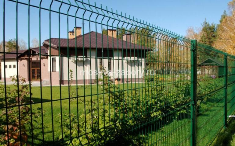 3д забор в Москве